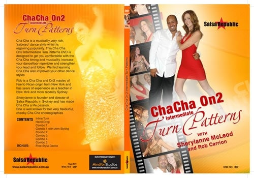 Cha Cha Turn Patterns DVD
