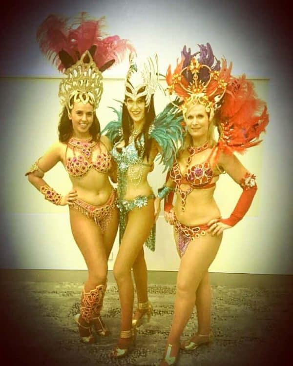 Brazilian Samba Dancers for Parties & Events